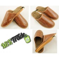 Klapki kapcie ciapy laczki pantofle ocieplane męskie rozmiar 43