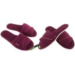 METEOR rozmiar 35 frotte frotki klapki kapcie ciapy pantofle laczki domowe łapcie damskie odkryte palce