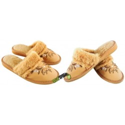 Damskie ocieplane rozmiar 40 klapki kapcie ciapy laczki pantofle papcie łapcie domowe góralskie zakryte palce