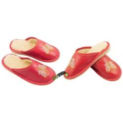 Dziecięce ocieplane rozmiar 34 klapki kapcie ciapy laczki pantofle łapcie domowe