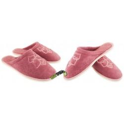 METEOR damskie rozmiar 35 frotte frotki klapki kapcie ciapy pantofle laczki domowe łapcie zakryte palce płaskie