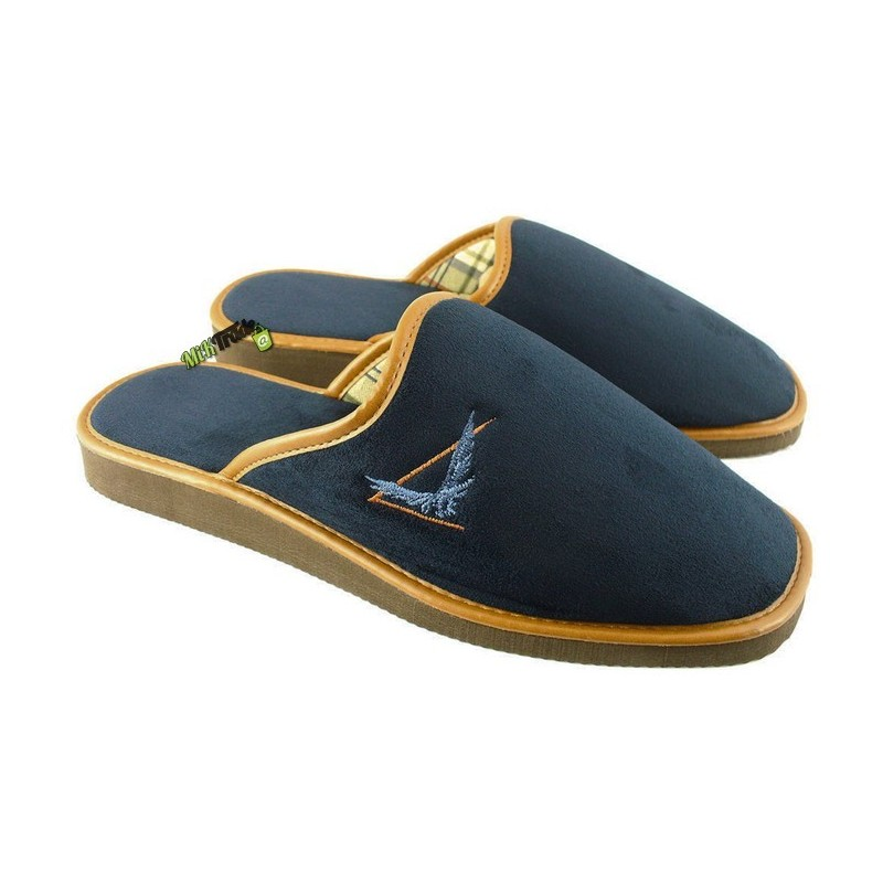 c111354b758ad METEOR męskie rozmiar 43 klapki kapcie ciapy pantofle laczki domowe łapcie  papcie zakryte palce ...