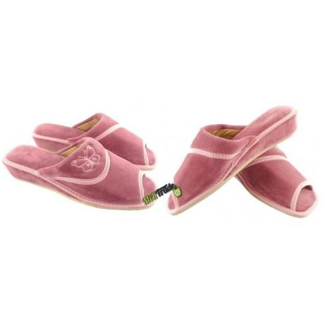 METEOR damskie rozmiar 39 na koturnie klapki kapcie ciapy pantofle laczki łapcie domowe odkryte palce