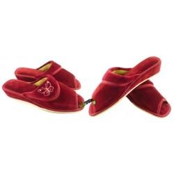 METEOR damskie rozmiar 38 na koturnie klapki kapcie ciapy pantofle laczki łapcie domowe odkryte palce