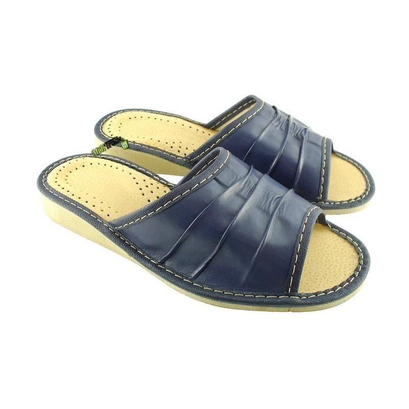 745c6eb9d4121 Damskie skórzane rozmiar 38 klapki ciapy laczki góralskie łapcie papcie  pantofle domowe odkryte palce ...
