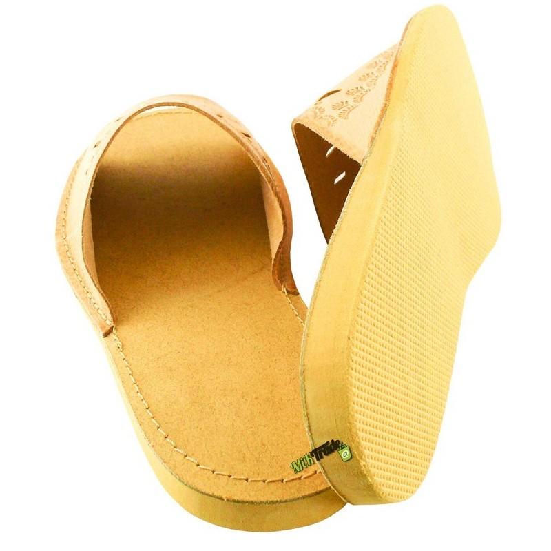 26082fd5e5294 ... Damskie skórzane rozmiar 38 klapki kapcie ciapy laczki góralskie  pantofle papcie łapcie domowe odkryte palce płaskie ...