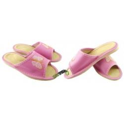 Dziecięce skórzane rozmiar 32 klapki kapcie ciapy laczki pantofle domowe góralskie łapcie papcie odkryte palce