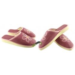 METEOR damskie rozmiar 37 klapki kapcie ciapy pantofle laczki domowe łapcie damskie materiałowe zakryte palce