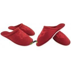 METEOR damskie rozmiar 40 frotte frotki klapki kapcie ciapy pantofle laczki domowe łapcie papcie materiałowe zakryte palce