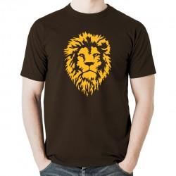 Lion Dread koszulka męska bawełna t-shirt bawełniana z nadrukiem