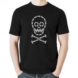 ROWEROWA CZACHA koszulka męska bawełna t-shirt bawełniana z nadrukiem