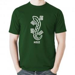NSZ - JASZCZURKA koszulka męska bawełna t-shirt bawełniana z nadrukiem