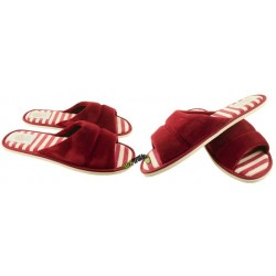 METEOR damskie rozmiar 39 klapki kapcie ciapy pantofle laczki domowe łapcie materiałowe odkryte palce