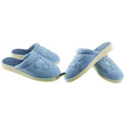 METEOR damskie rozmiar 40 klapki kapcie ciapy pantofle laczki domowe łapcie materiałowe zakryte palce