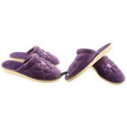 METEOR damskie rozmiar 39 klapki kapcie ciapy pantofle laczki domowe łapcie materiałowe zakryte palce