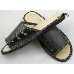 Klapki kapcie laczki pantofle ciapy skórzane męskie rozmiar 41