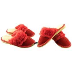 Dziewczęce ocieplane rozmiar 32 klapki kapcie ciapy laczki pantofle łapcie papcie góralskie zakryte palce