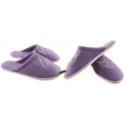 METEOR damskie rozmiar 39 frotte frotki klapki kapcie ciapy pantofle laczki domowe łapcie materiałowe papcie zakryte palce