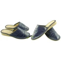 Damskie skórzane rozmiar 39 klapki kapcie ciapy laczki pantofle papcie góralskie łapcie domowe zakryte palce