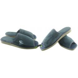 METEOR męskie rozmiar 42 klapki kapcie ciapy pantofle laczki domowe łapcie papcie materiałowe odkryte palce 024