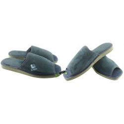 METEOR męskie rozmiar 43 klapki kapcie ciapy pantofle laczki domowe łapcie papcie materiałowe odkryte palce 024