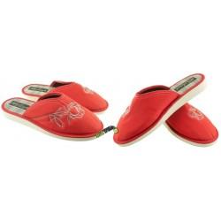 METEOR damskie rozmiar 38 klapki kapcie ciapy pantofle laczki domowe łapcie papcie damskie materiałowe zakryte palce