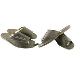 Męskie skórzane rozmiar 41 klapki kapcie ciapy laczki domowe góralskie pantofle łapcie odkryte palce