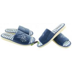 METEOR damskie rozmiar 37 klapki kapcie ciapy pantofle laczki domowe łapcie papcie damskie materiałowe odkryte palce KOK348