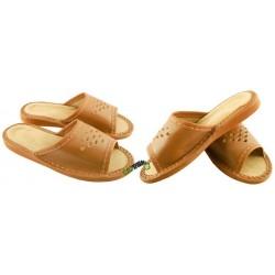 Dziecięce skórzane rozmiar 28 chłopięce klapki kapcie ciapy laczki pantofle domowe góralskie łapcie papcie odkryte palce