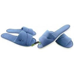 METEOR damskie rozmiar 40 frotte frotki klapki kapcie ciapy pantofle laczki domowe łapcie papućki odkryte palce płaskie
