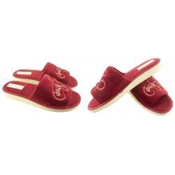 METEOR damskie rozmiar 39 klapki kapcie ciapy pantofle laczki domowe łapcie papcie damskie materiałowe odkryte palce