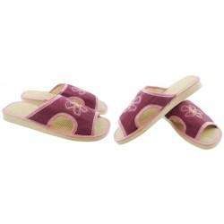 METEOR damskie rozmiar 38 klapki kapcie ciapy pantofle laczki domowe łapcie materiałowe