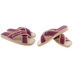 METEOR damskie rozmiar 39 klapki kapcie ciapy pantofle laczki domowe łapcie materiałowe
