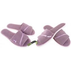 METEOR damskie rozmiar 37 frotte frotki klapki kapcie ciapy pantofle laczki domowe łapcie odkryte palce Natural Style
