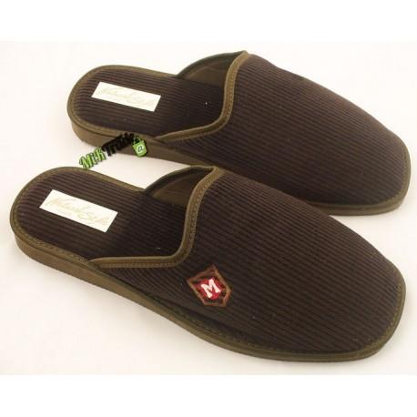 METEOR męskie rozmiar 41 sztruks klapki kapcie ciapy pantofle laczki domowe łapcie papcie