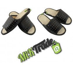 Klapki kapcie laczki ciapy pantofle góralskie skórzane męskie rozmiar 44