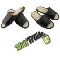 Klapki kapcie laczki pantofle laczki skórzane męskie rozmiar 41