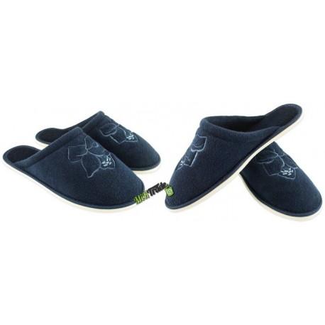 METEOR damskie rozmiar 37 frotte frotki klapki kapcie ciapy pantofle laczki domowe łapcie zakryte palce płaskie