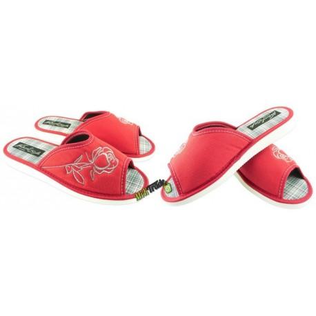 METEOR damskie rozmiar 39 klapki kapcie ciapy pantofle laczki domowe łapcie odkryte palce