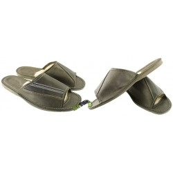 Męskie skórzane rozmiar 45 klapki kapcie ciapy laczki góralskie pantofle łapcie odkryte palce