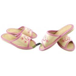 Dziecięce skórzane rozmiar 35 klapki kapcie ciapy laczki pantofle domowe góralskie łapcie papcie odkryte palce