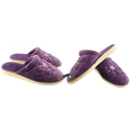 METEOR damskie rozmiar 38 klapki kapcie ciapy pantofle laczki domowe łapcie materiałowe zakryte palce