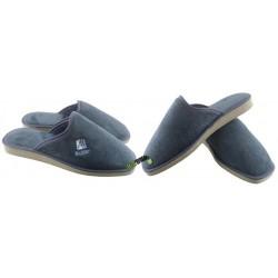 METEOR męskie rozmiar 42 klapki kapcie ciapy pantofle laczki domowe łapcie materiałowe papcie zakryte palce